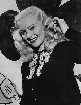 Mary Hartline - Mary Hartline in 1952.