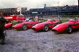 Maserati works team Aintree 1957.jpg