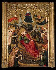 Saint John the Evangelist's Dream at Patmos