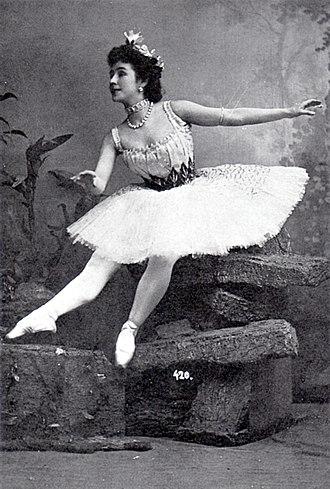Mathilde Kschessinska - Image: Mathilde Kschessinskaya circa 1900 1