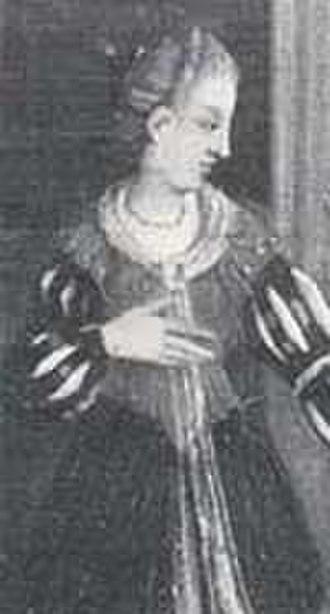 Louis II, Duke of Bavaria - Louis' third wife, Matilda of Habsburg