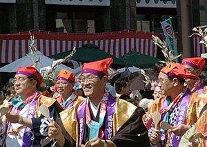 Hakata Dontaku - Toorimon parade