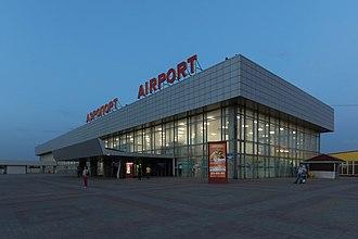 Volgograd International Airport - Image: May 2015 Volgograd img 20 Gumrak Airport