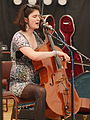 Maya McCourt 07 - 1100 - The Folkroom Stage, Home Farm Festival, June 2015.jpg