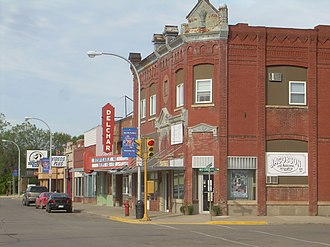 Mayville, North Dakota - Downtown Mayville