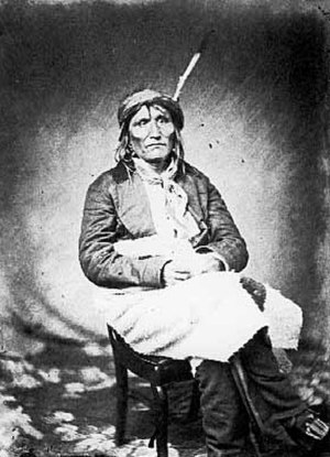 Sisseton Wahpeton Oyate - Chief Mazasa (Red Iron), c. 1860.