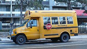 McCluskey Transportation Services - Image: Mc Cluskey bus 6