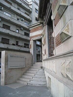 McKinsey & Company - McKinsey Office in Bucharest, Romania.