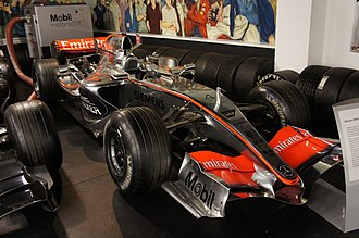 McLaren MP4-21 - Image: Mc Laren MP4 21 Donington Park