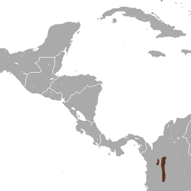 Medellin Small-eared Shrew area.png