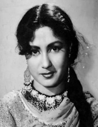 Filmfare Award for Best Actress - Image: Meena Kumari in Chandni Chowk (1954)