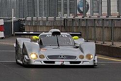 Mercedes-Benz CLR front 2009 Nurburgring.jpg