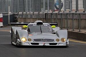Mercedes-Benz CLR - Image: Mercedes Benz CLR front 2009 Nurburgring