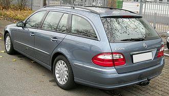 Mercedes-Benz E-Class (W211) - Pre-facelift E 220 wagon (Europe)