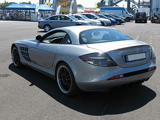 Mercedes-Benz SLR McLaren - Mercedes-Benz SLR McLaren 722 Edition