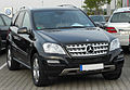 Mercedes ML 350 CDI 4MATIC (W164) Facelift front 20100913.jpg