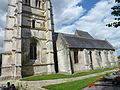 Merck-Saint-Liévain (Pas-de-Calais, Fr) église Saint-Omer PA00108347 (03).JPG
