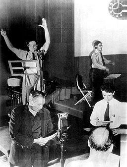 Mercury-Theatre-Radio-Rehearsal-1938-2