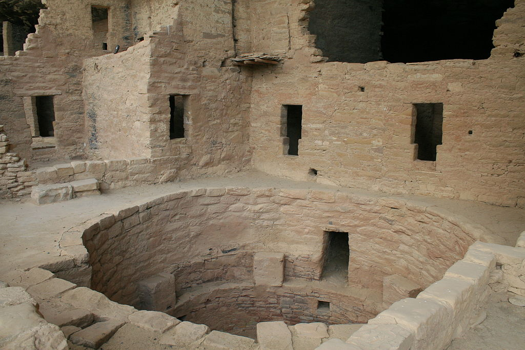 Mesa Verde National Park Spruce Tree House Kiva 2006 09 12