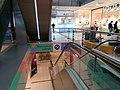 Metro level escalator Duna Plaza.jpg