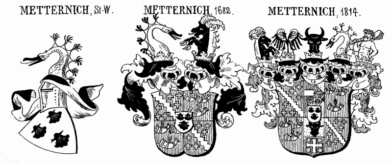 Coat of Arms of the House of Metternich