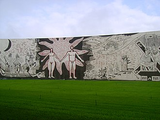 Adolfo Mexiac - Mural by Adolfo Mexiac at the University of Colima.