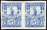 Mexico 1897-98 5c unused pair imperforate Sc272a.jpg