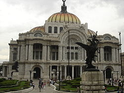 Bellas Artes Palace in Mexico City.