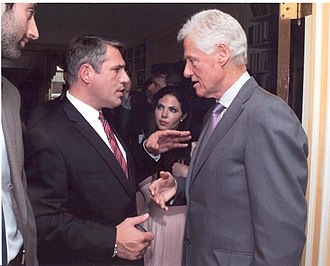 Michael Wildes - Wildes talks to Bill Clinton about immigration policy, June 2012.