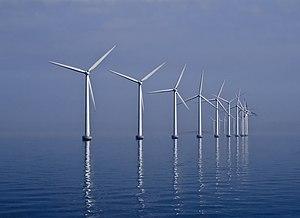 Китай начинает строить самую крупную морскую ветряную ферму в мире