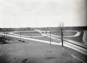 The Middle Road - The cloverleaf interchange at Middle Road and Highway 10 was the first controlled access interchange in Canada.