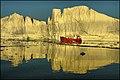 Midnight Colors of the Ice, Ilulissat Kangerlua - panoramio.jpg