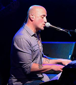 Mike DelGuidice - Mike DelGuidice playing piano and vocals