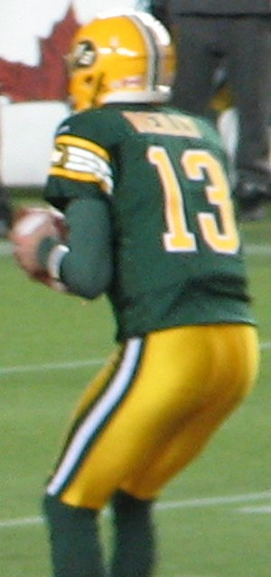 Mike Reilly (quarterback) - Reilly in 2013
