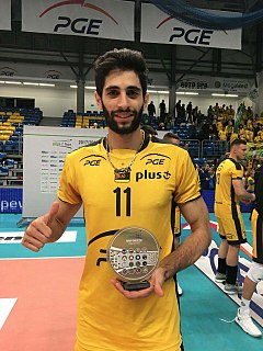 Milad Ebadipour Iranian volleyball player