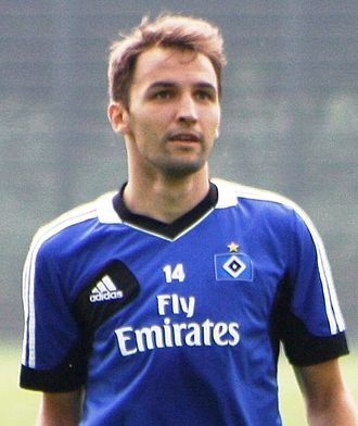 Milan Badelj - Badelj with HSV.