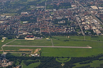 Bresso Airfield - Aerial view of the aerodrome