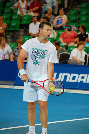 English: Miles Maclagan during Hopman Cup 2010...