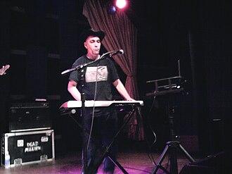 Rodney Linderman - Linderman performing with The Dead Milkmen in 2010