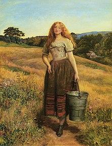 Millais farmers-daughter
