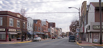Millville, New Jersey - High Street in downtown Millville in 2006