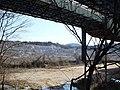 Mine of the limestone and conveyor belt 石灰石鉱山とベルトコンベア - panoramio.jpg