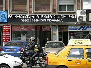 Mineriad - Association of Victims of the Mineriads