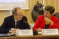 Minister Padoan & Vice President Georgieva (21885426005).jpg