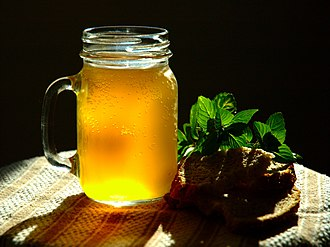 Russian cuisine - Kvass is a bread-based drink and a key ingredient in many soups.