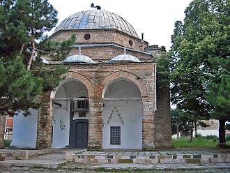 Mirahori Mosque - Image: Mirahori Mosque Korça