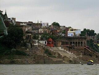 Mirzapur City in Uttar Pradesh, India