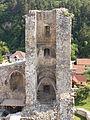 Miskolc, Diósgyőr, hrad, věž, otevřená.jpg
