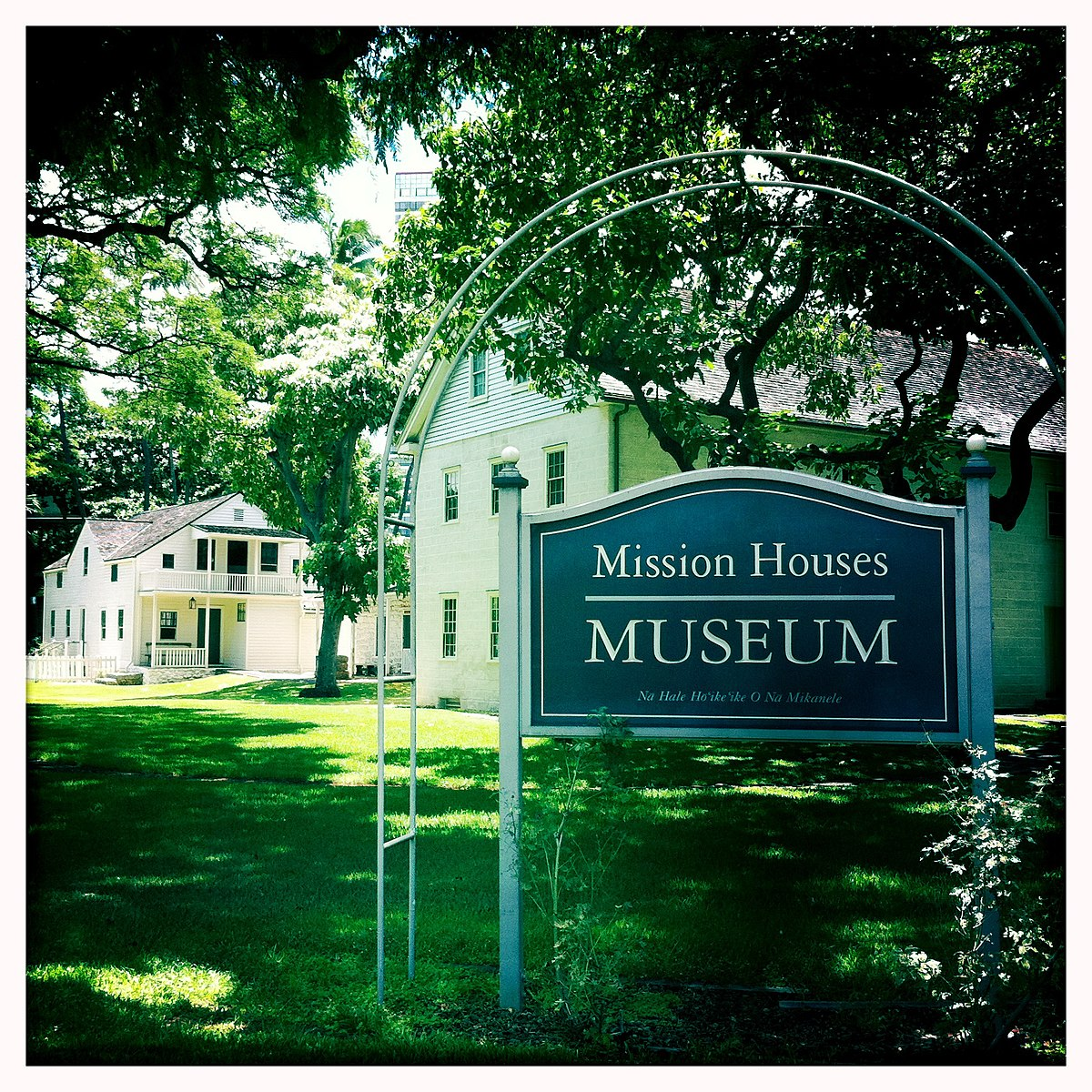 Hawaiian Mission Houses Historic Site And Archives Wikipedia