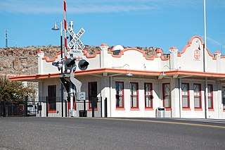 train station in Kingman, Arizona